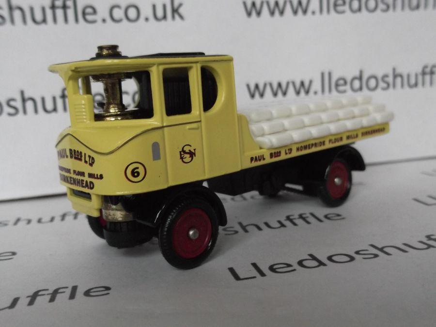 DG99002, Sentinel 4w Flatbed Steam Wagon, Paul Bros