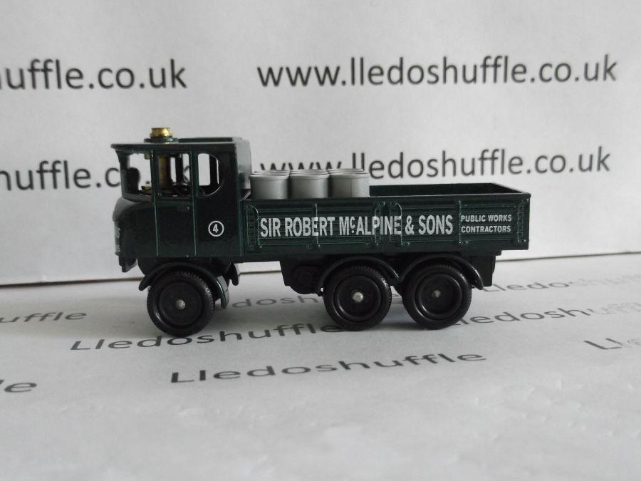 DG101000, Sentinel 6w Dropside Steam Wagon, Sir Robert McAlpine & Sons