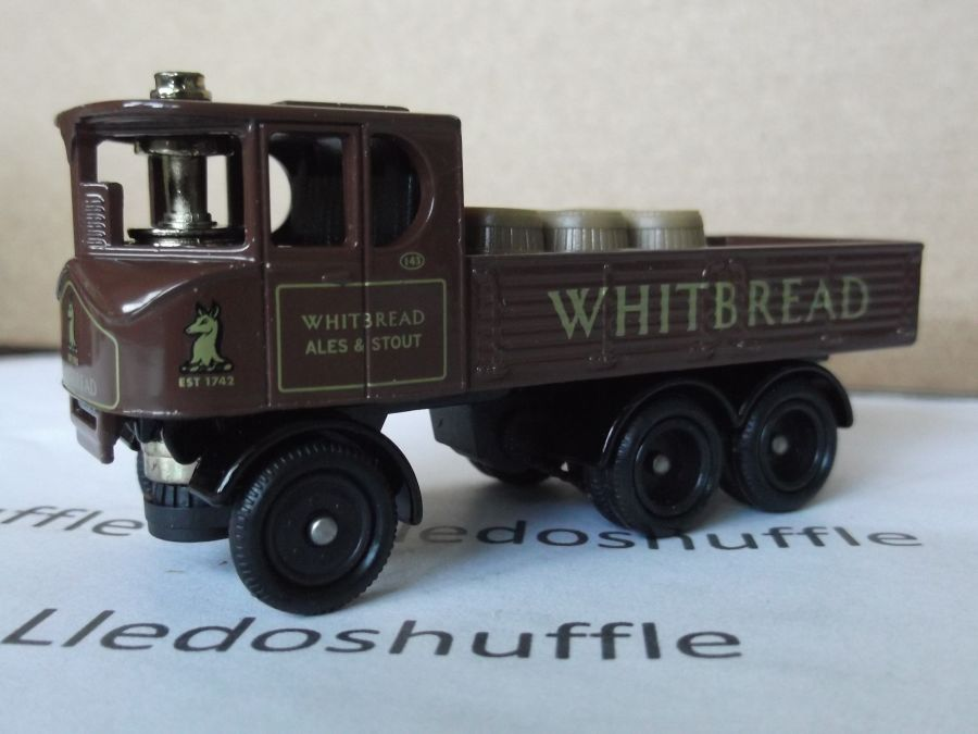 DG101002, Sentinel 6w Dropside Steam Wagon, Whitbread