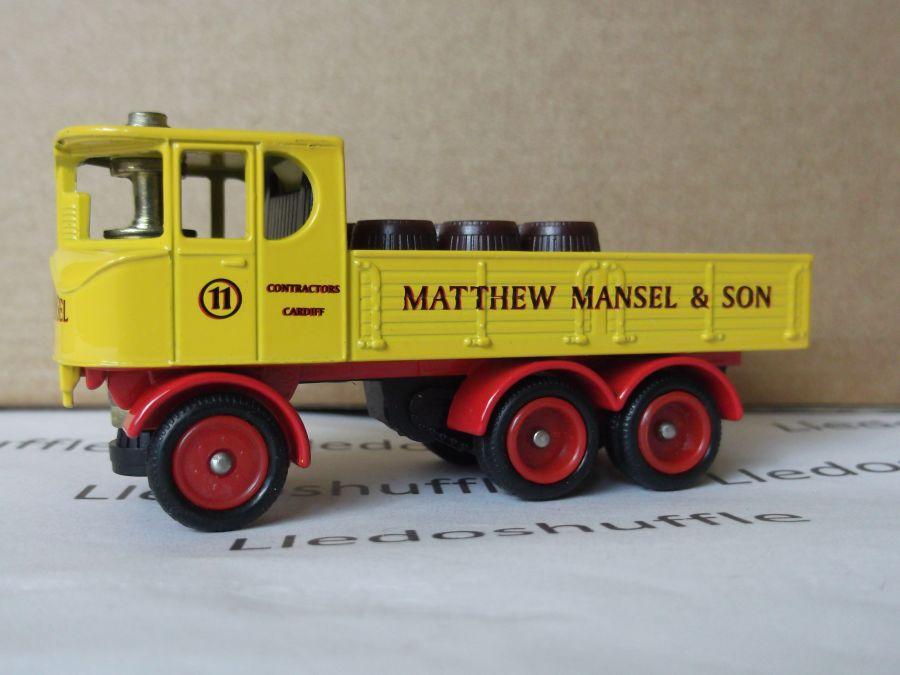 DG101004, Sentinel 6w Steam Wagon, Matthew Mansel
