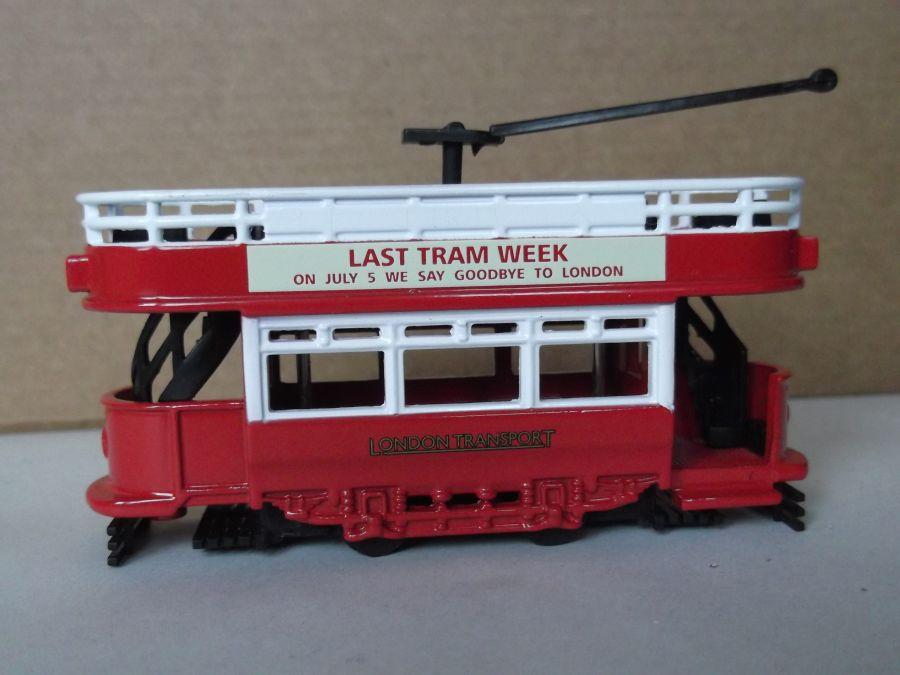 DG109004, Dick Kerr Open Top Tram, London Transport - Last Tram Week