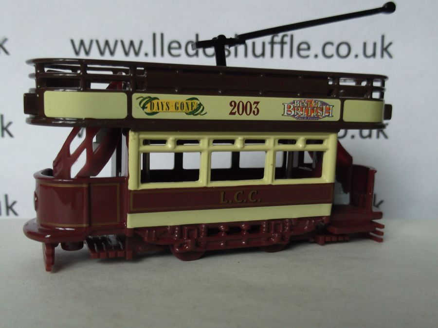 DG109006, Dick Kerr Open Top Tram, LCC Lledo Show, Club Model 2003