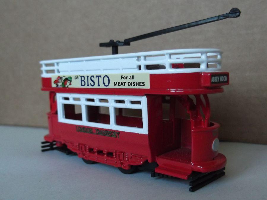 DG109007, Dick Kerr Open Top Tram, London Transport - Bisto