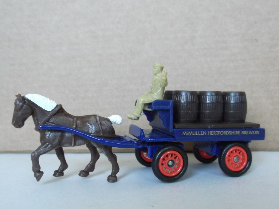 DG102001, Horse Drawn Brewers Dray, McMullen