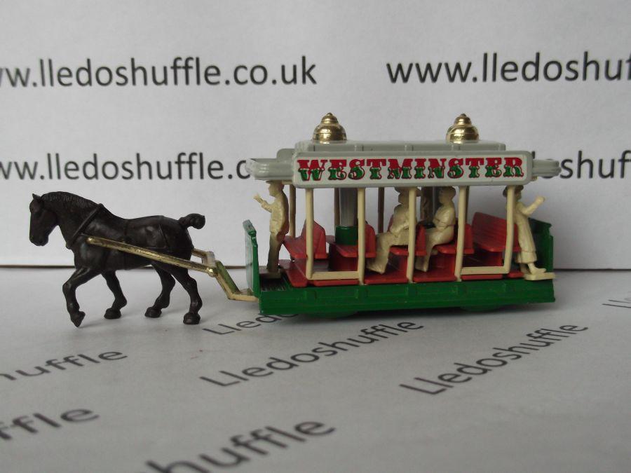 DG01000c, Horse Drawn Tram, Westminster, White Crest, 3rd Shaft