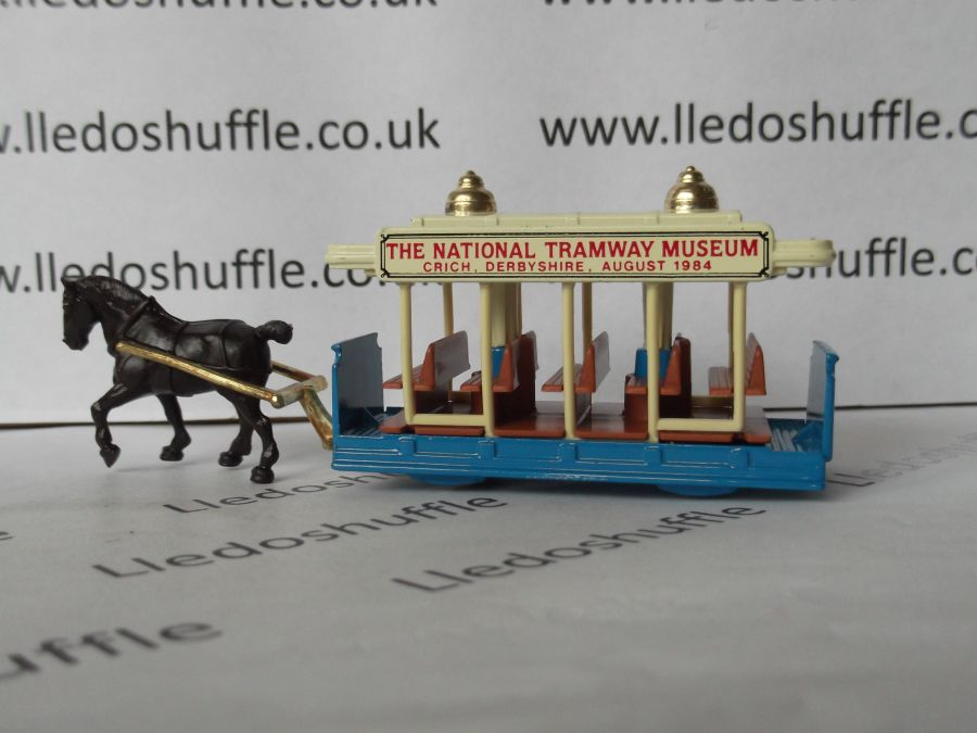 DG01004, Horse Drawn Tram, Crich National Tramway Museum