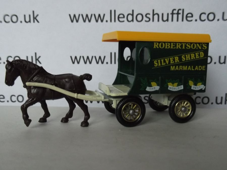 DG03003, Horse Drawn Delivery Van, Robertsons Silver Shred Marmalade, Dark Print