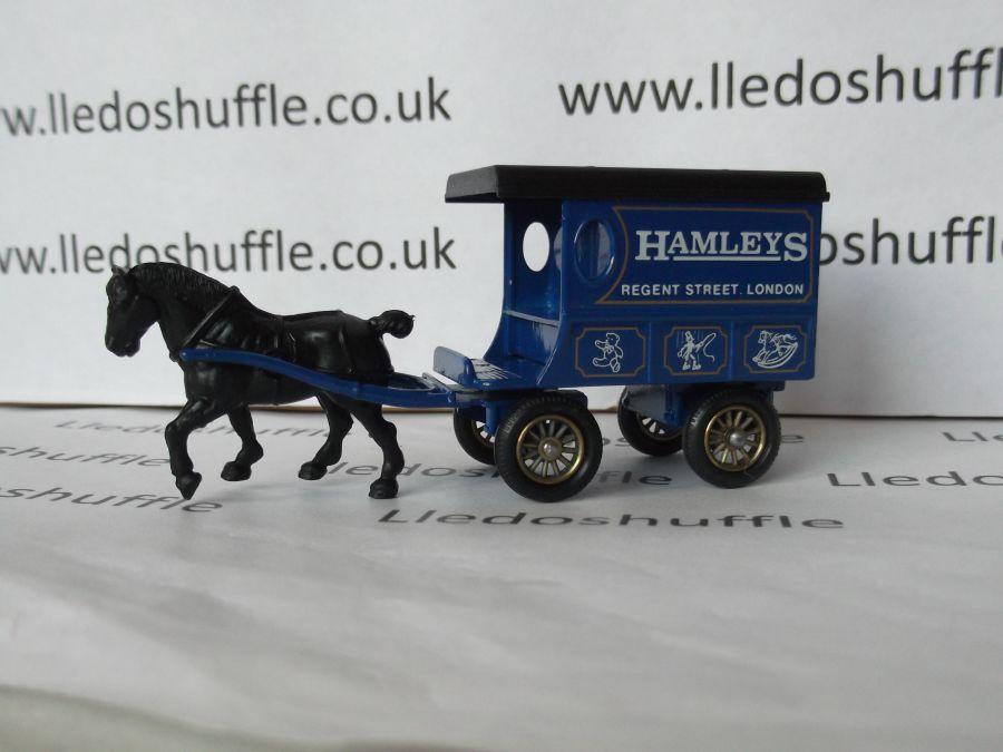 DG03009, Horse Drawn Delivery Van, Hamleys