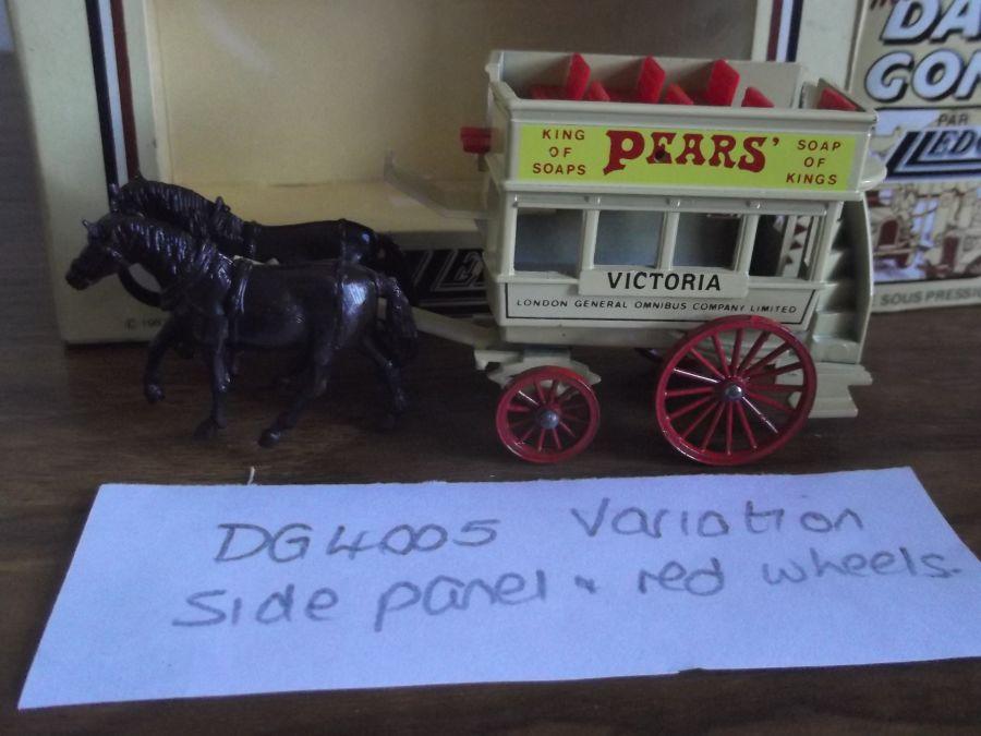 DG04005 Variation, Horse Drawn Omnibus, Pears Soap