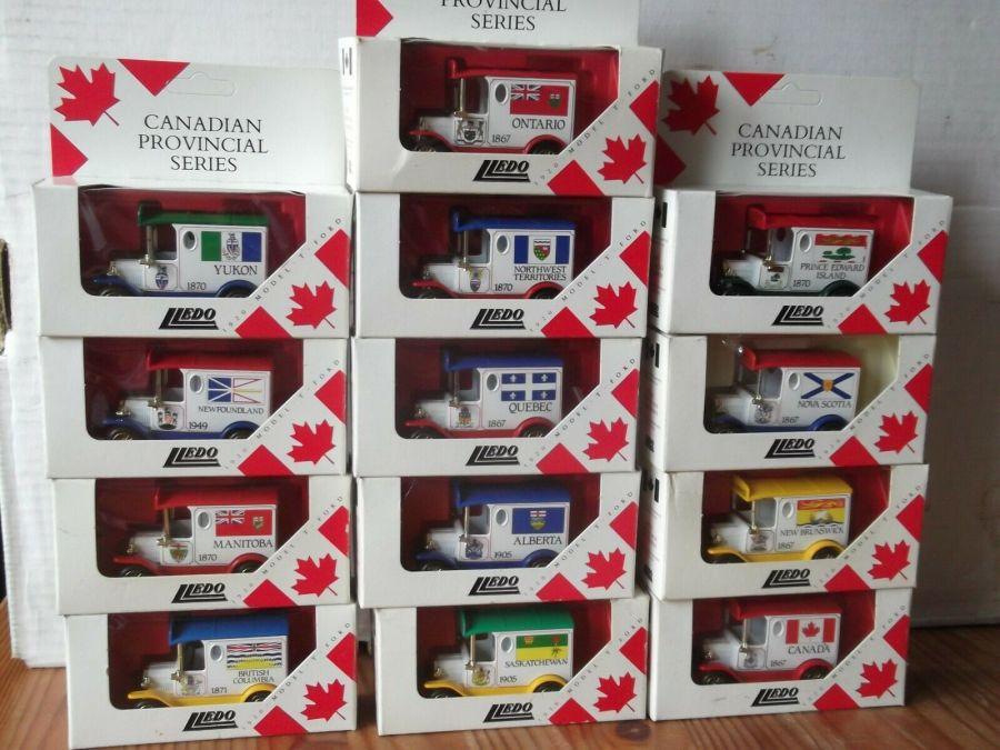 Canadian Provincial Series, Set of 13 models