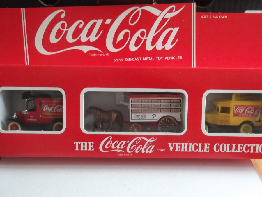 CC1003, Coca Cola Vehicle Collection, 3 piece Set