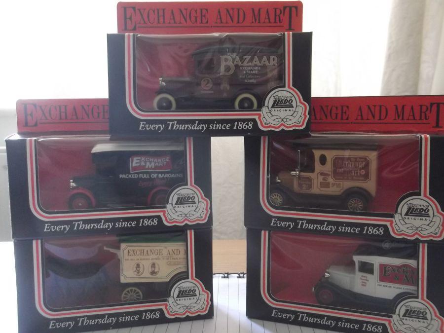 Exchange & Mart 1986, 5 piece LP Model Set