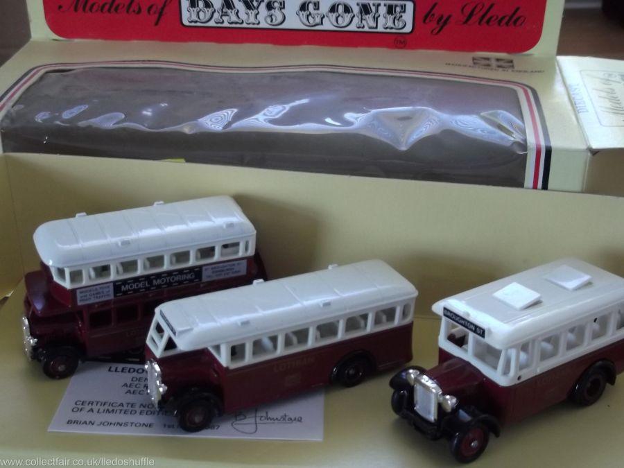 Lothian Bus Set, 3 piece Set