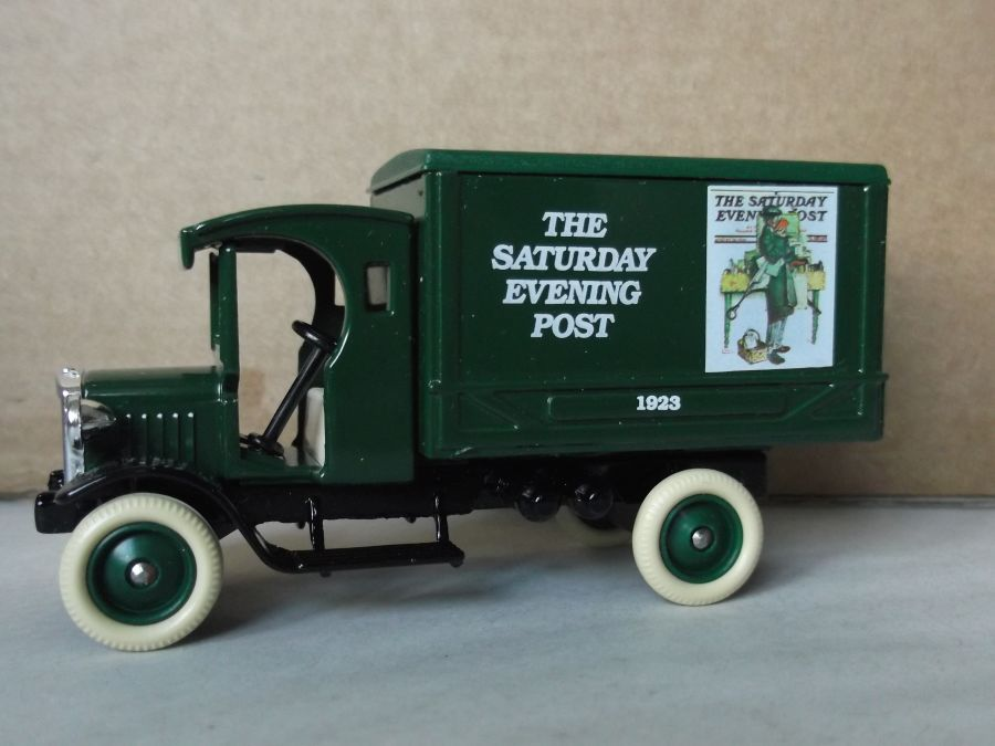 SL66000, Dennis Delivery Van, Norman Rockwell, The Saturday Evening Post 1923