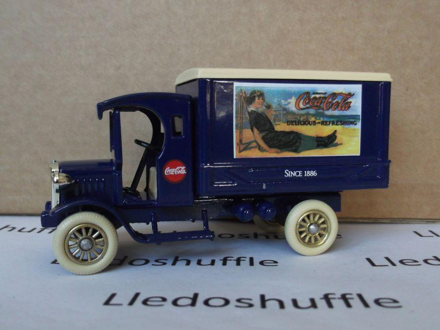SL66001, Dennis Delivery Van, Coca Cola Classic Advertising