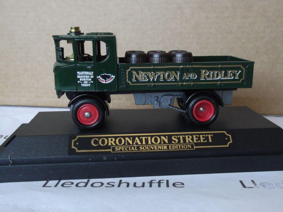 SL88000, Sentinel DG4 Steam Wagon, Newton & Ridley, Coronation Street