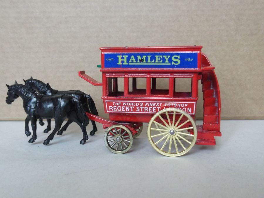 DG04008, Horse Drawn Omnibus, Hamleys