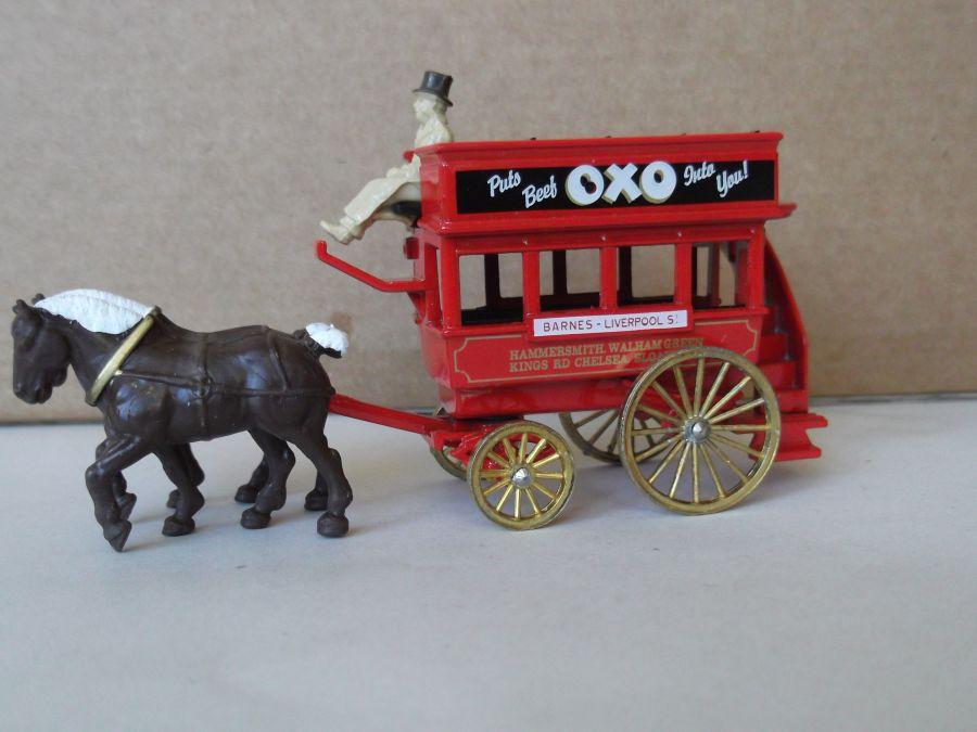 DG04014, Horse Drawn Omnibus, Oxo Beef Stock