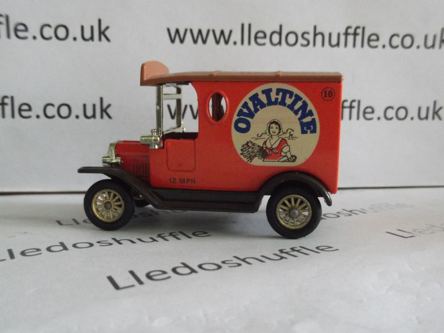 DG06000, Model T Ford Van, Ovaltine, Cream Logo