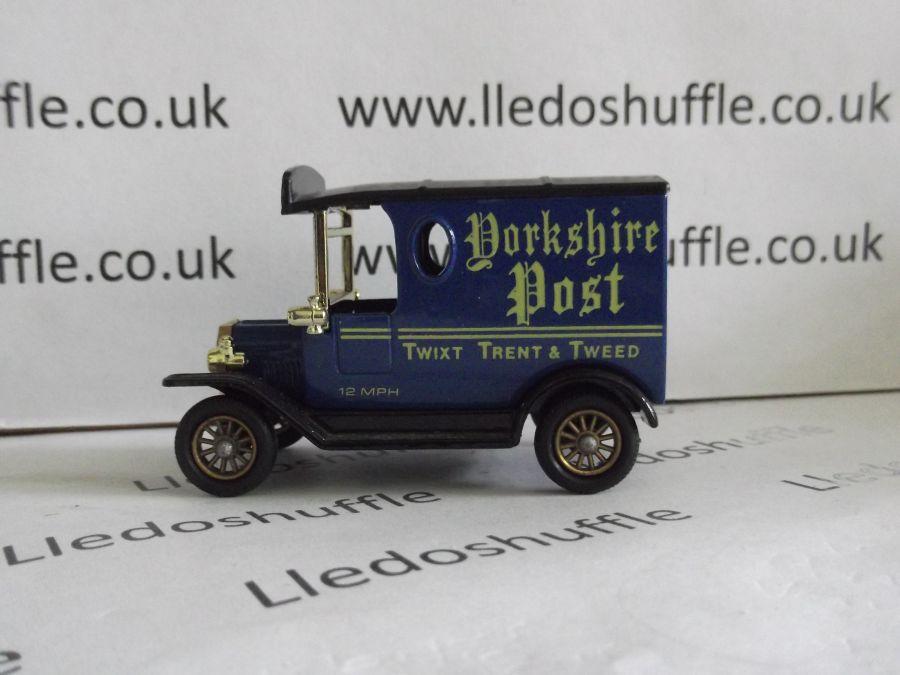 DG06001, Model T Ford Van, Yorkshire Post
