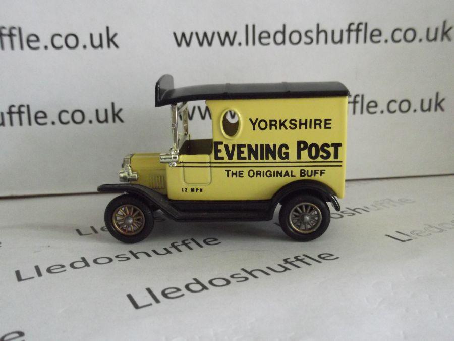DG06012, Model T Ford Van, Yorkshire Evening Post