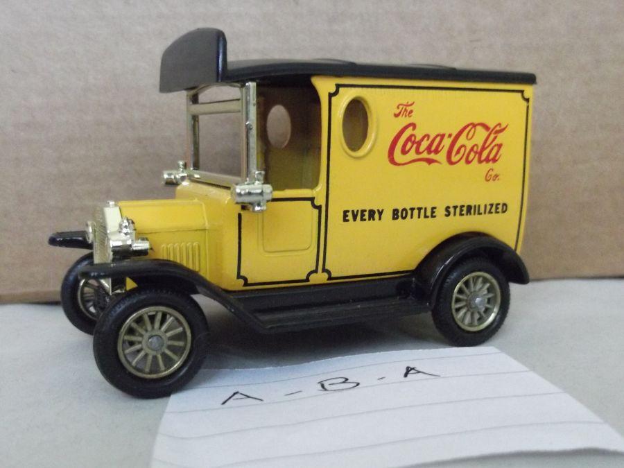 DG06021, Model T Ford Van, Coca Cola Every Bottle Sterilized