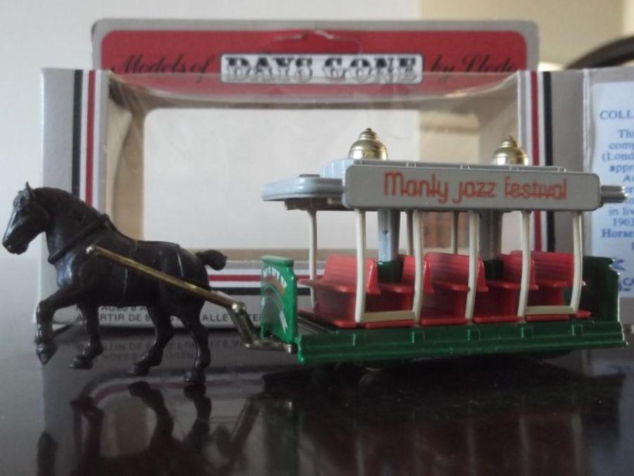 Code 3, DG01, Horse Drawn Tram, Manly Jazz Festival in Green (2nd Shaft)