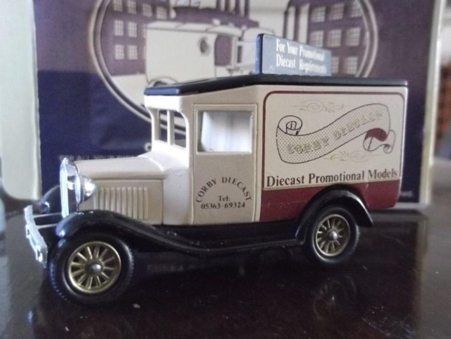 Code 3, DG13, Model A Ford Van, Corby Diecast