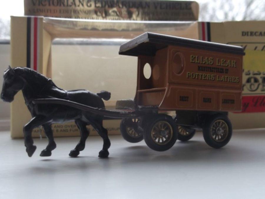 Code 3, DG03, Horse Drawn Delivery Van, Elias Leak