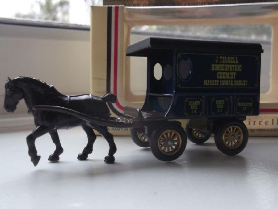 Code 3, DG03, Horse Drawn Delivery Van, J Tirrell