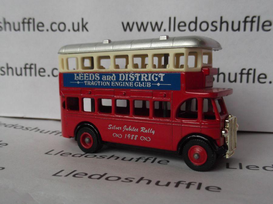 Code 3, DG15, AEC Regent Bus, Harewood House Traction Engine Rally 1988