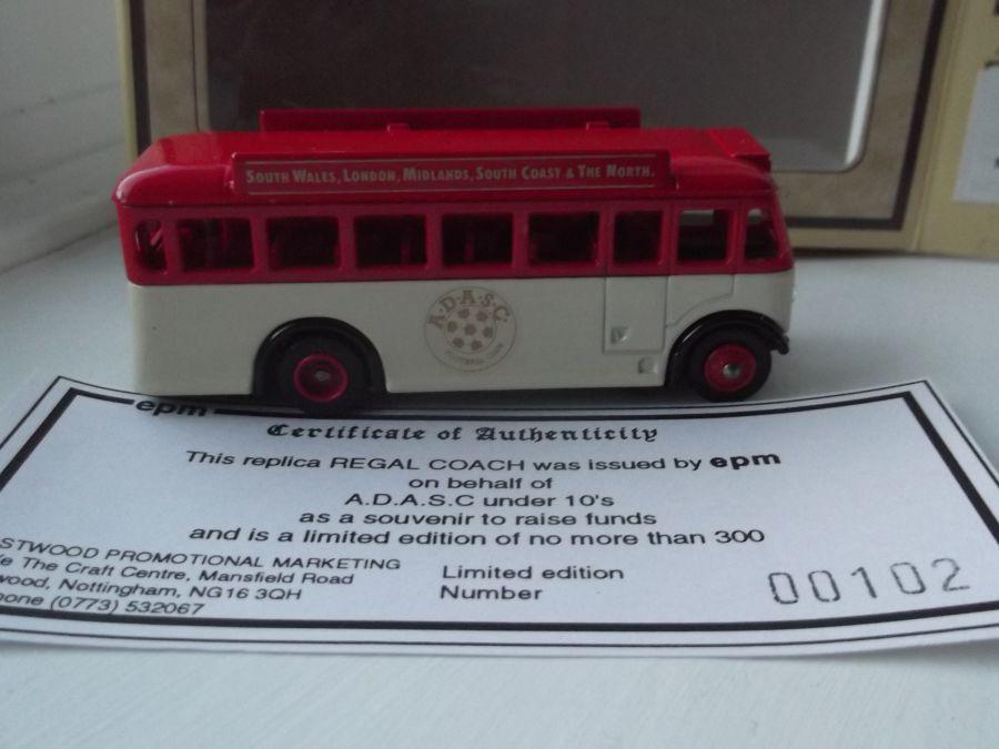 Code 3, DG17, AEC Regal Bus, ADASC under 10s Football Club, Alfreton