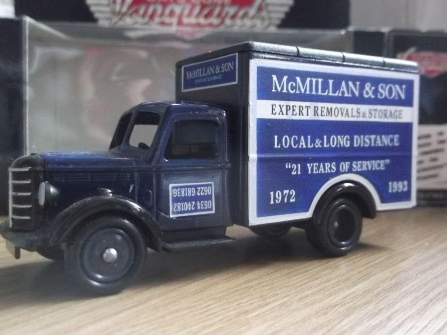 Code 3, DG59, Bedford 30cwt Truck, McMillan & Son Removals, Snodland