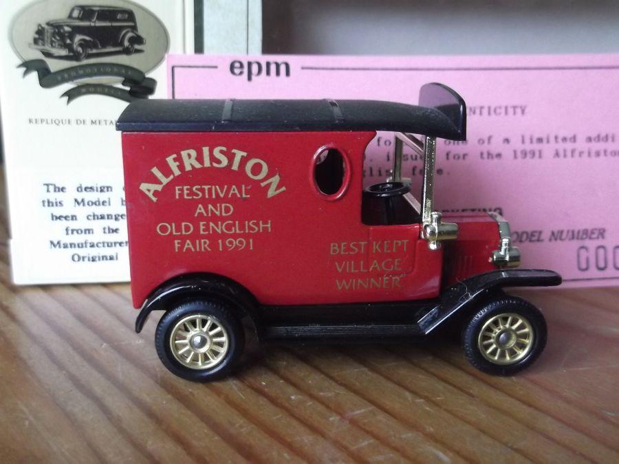 Code 3, LP06, Model T Ford Van, Alfriston Festival & Old English Fair 1991