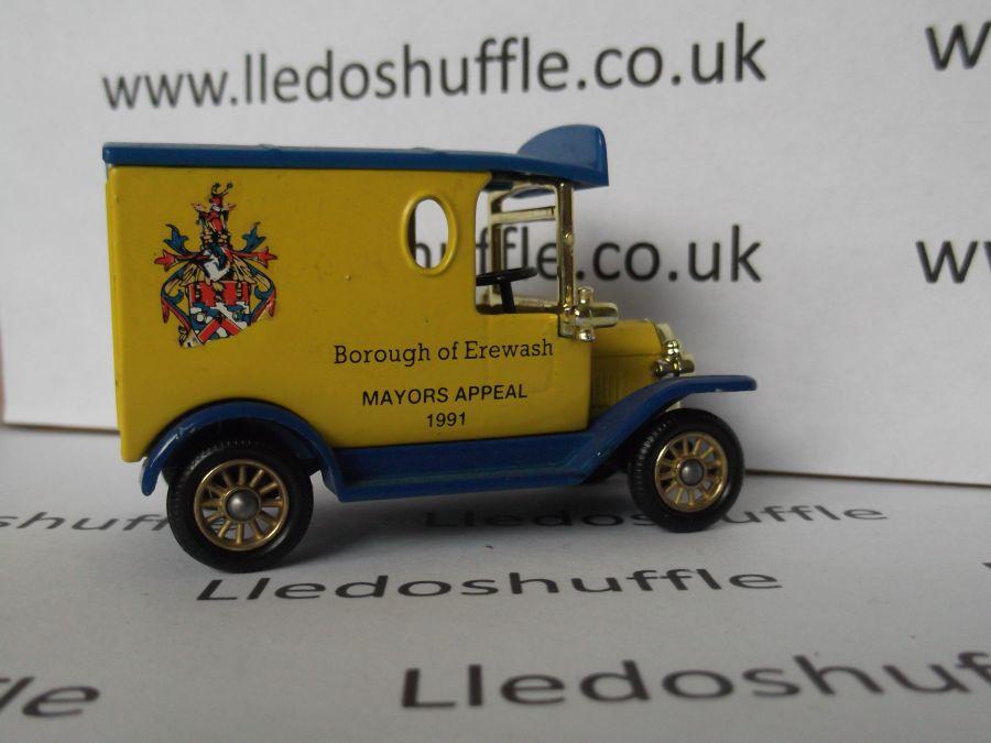 Code 3, LP06, Model T Ford Van, Borough of Erewash Mayors Appeal 1991