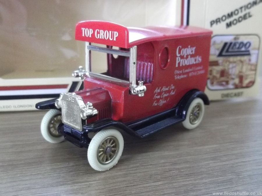 Code 3, LP06, Model T Ford Van, Copier Products, Top Group