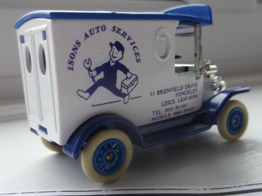 Code 3, LP06, Model T Ford Van, Isons Auto Services, Hinckley