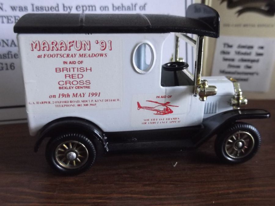 Code 3, LP06, Model T Ford Van, Marafun '91 at Footscray Meadows, British Red Cross