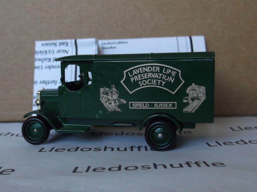 Code 3, LP43, Morris Van, Lavender Line Preservation Society