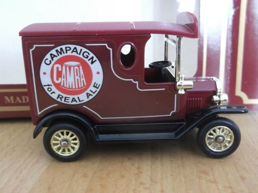 Code 3, PV006, Model T Ford Van, CAMRA, Campaign for Real Ale