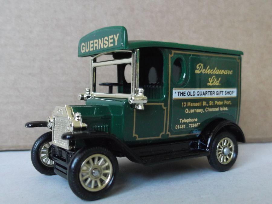 Code 3, PV006, Model T Ford Van, Delectaware Ltd, Guernsey