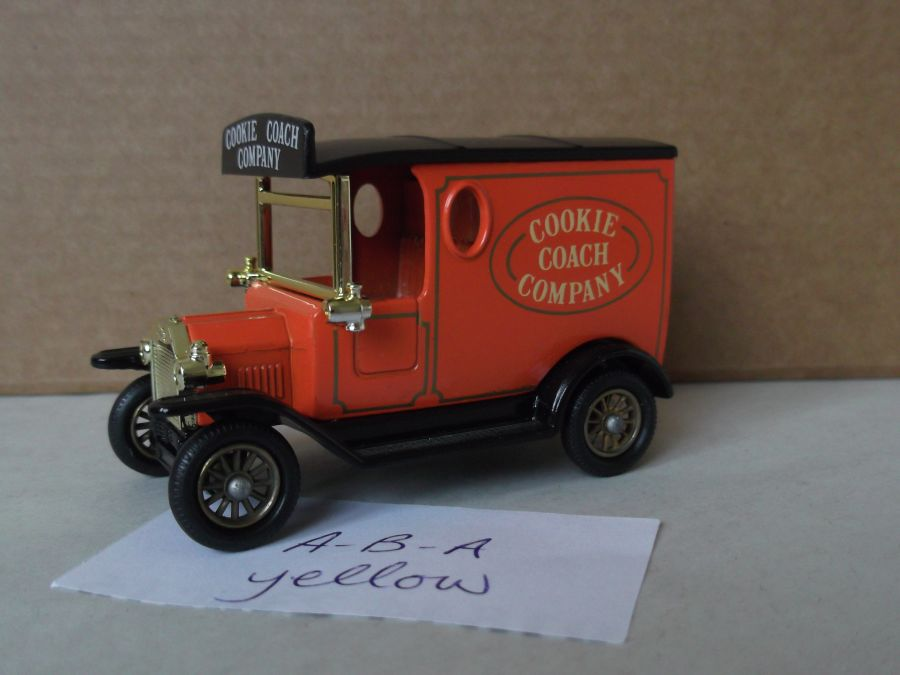 DG06002a, Model T Ford Van, Cookie Coach Company