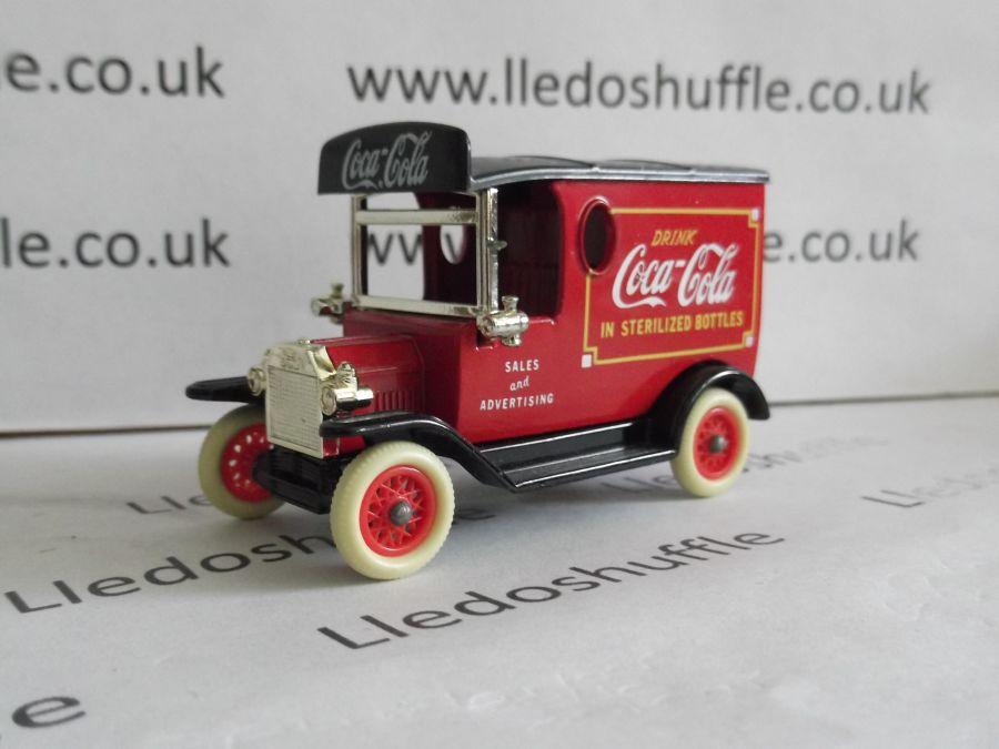 DG06058b, Model T Ford Van, Coca Cola