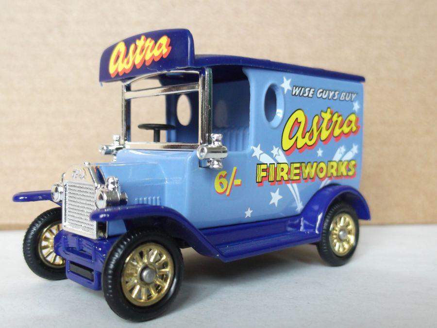 DG06170, Model T Ford Van, Astra Fireworks