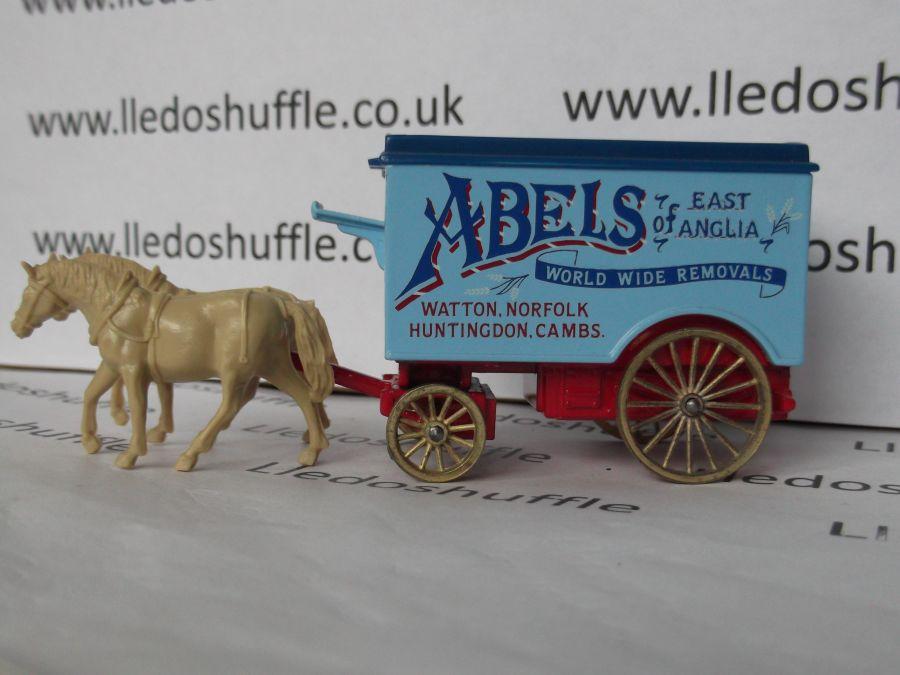 DG11001, H/D Removal Van, Abels of East Anglia