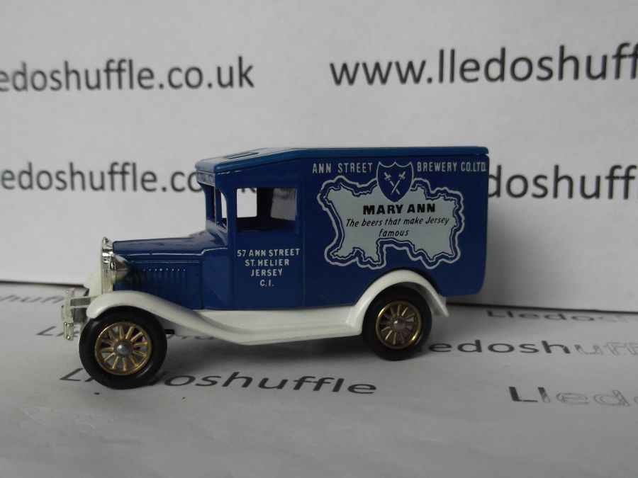 DG13007, Model A Ford Van, Mary Ann Brewery, Jersey