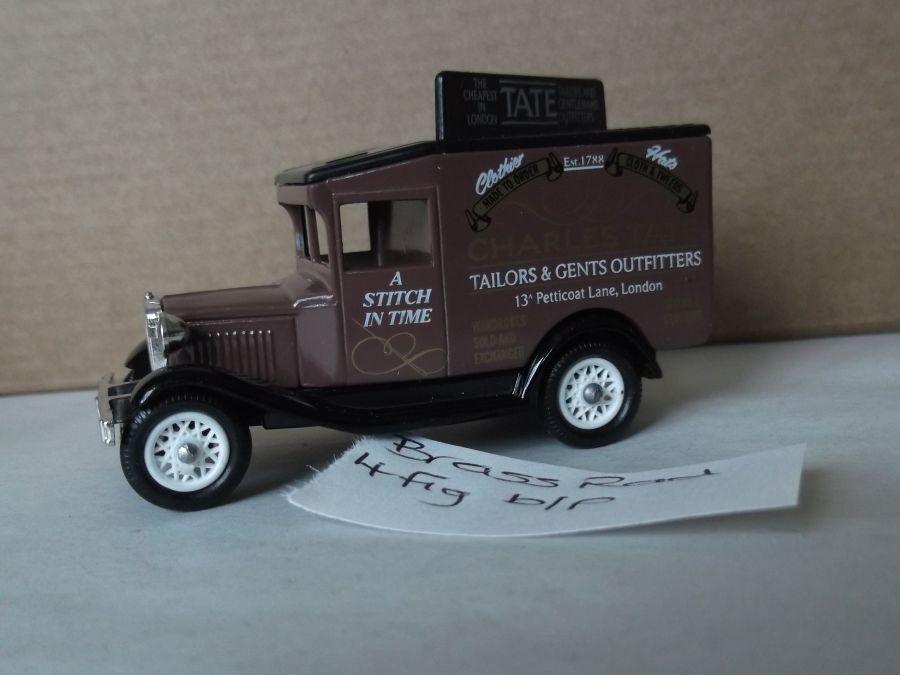 DG13027, Model A Ford Van, Charles Tate, Tailors