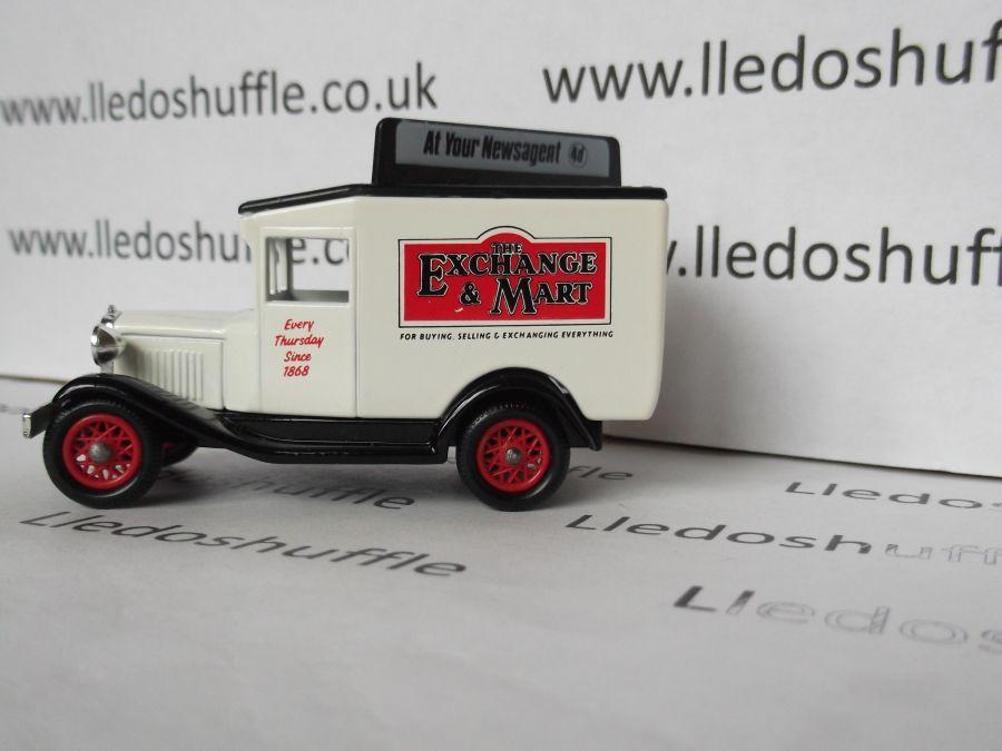DG13029, Model A Ford Van, Elizabeth Shaw