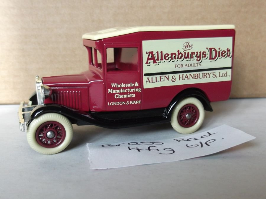 DG13033, Model A Ford Van, Allenbury's Diet