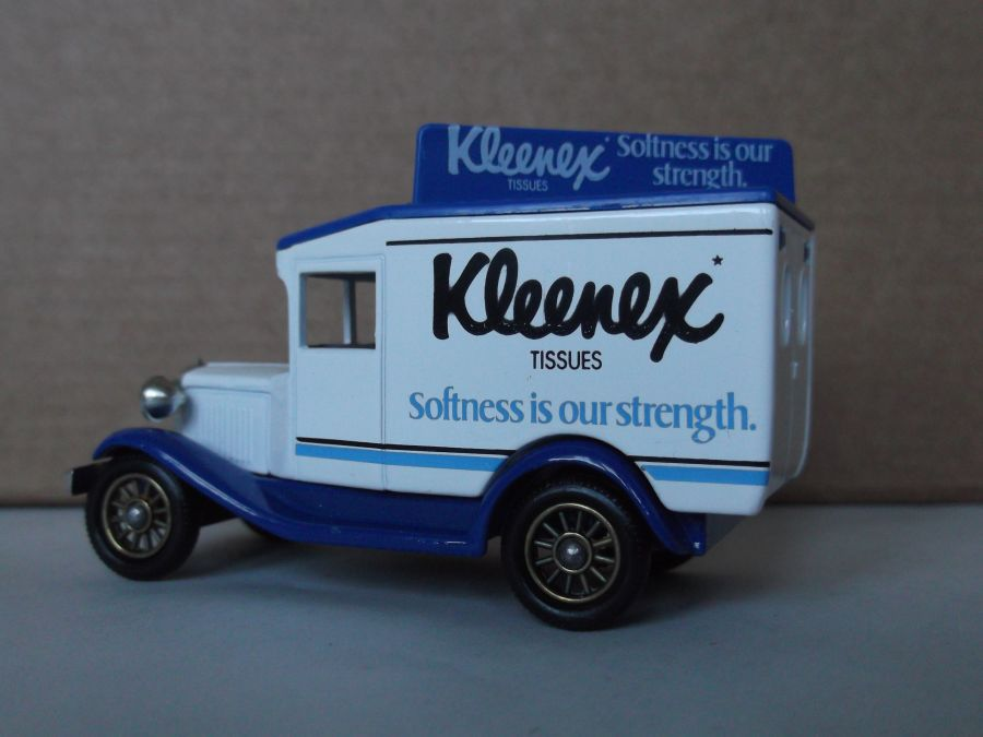 DG13035, Model A Ford Van, Kleenex Tissues